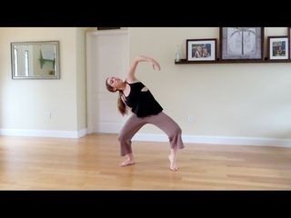Online Contemporary Dance Class! (LEARN COMBO AT HOME) Ava Chappell Choreography