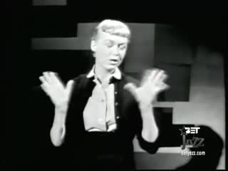 June Christy -       I Want To Be Happy  LIVE video 1957 (360p)