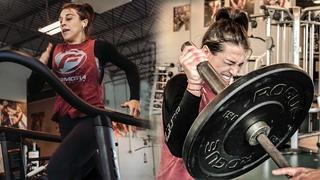 Joanna Jedrzejczyk Training for Weili Zhang | UFC 248 [Strength & Conditioning]
