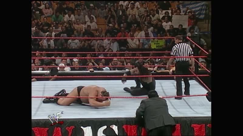 WWF Raw Is War 07.06.1999 - Undertaker vs Big Show