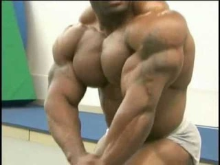 Johnnie Jackson posing practice
