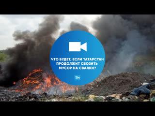 Что будет, если в Татарстане мусор продолжат свозить на свалки