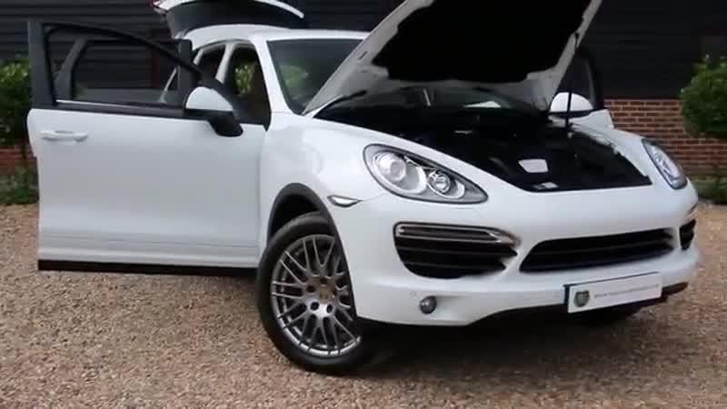 Porsche Cayenne Platinum Edition Diesel 5dr Tiptronic S in Pure White 2014