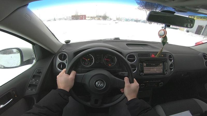 2011 Volkswagen Tiguan 1 4L 150HP POV TEST DRIVE