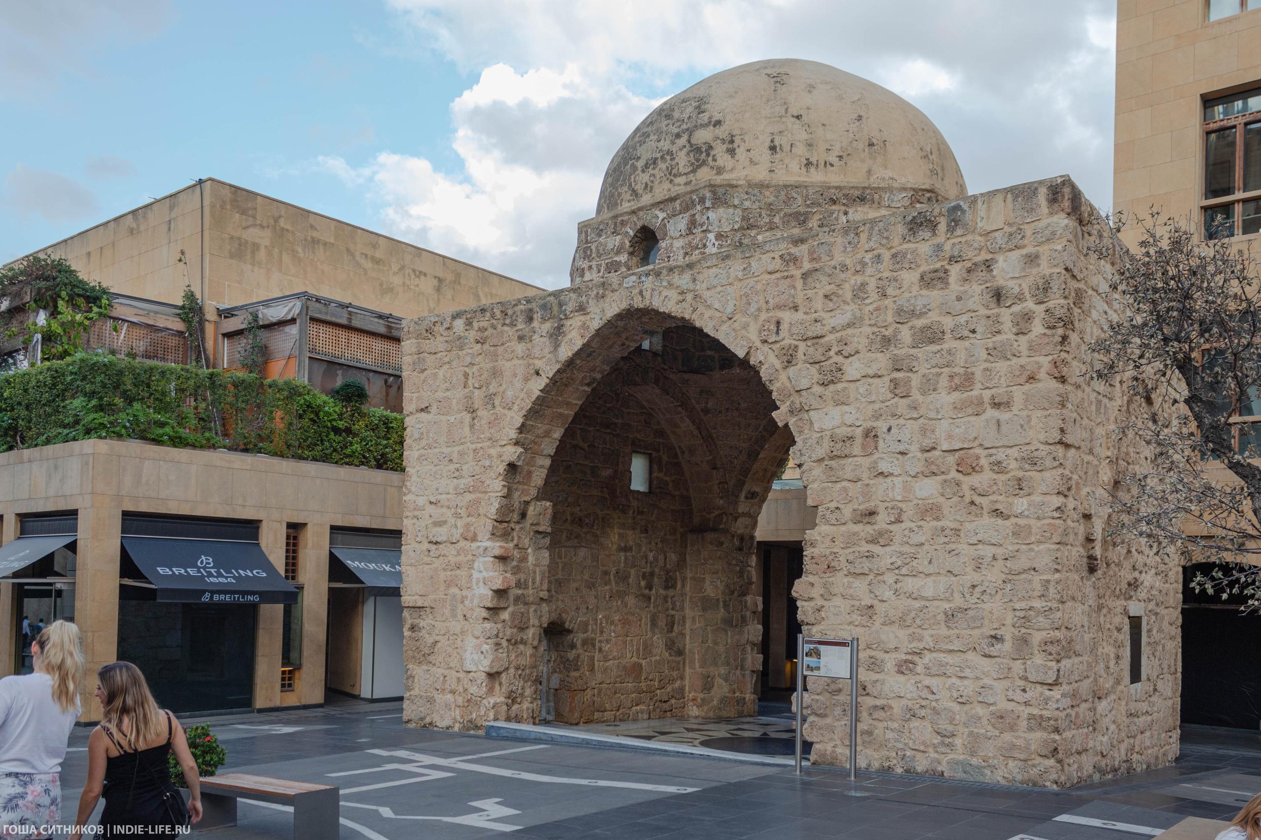 Бейрут. Старая мечеть