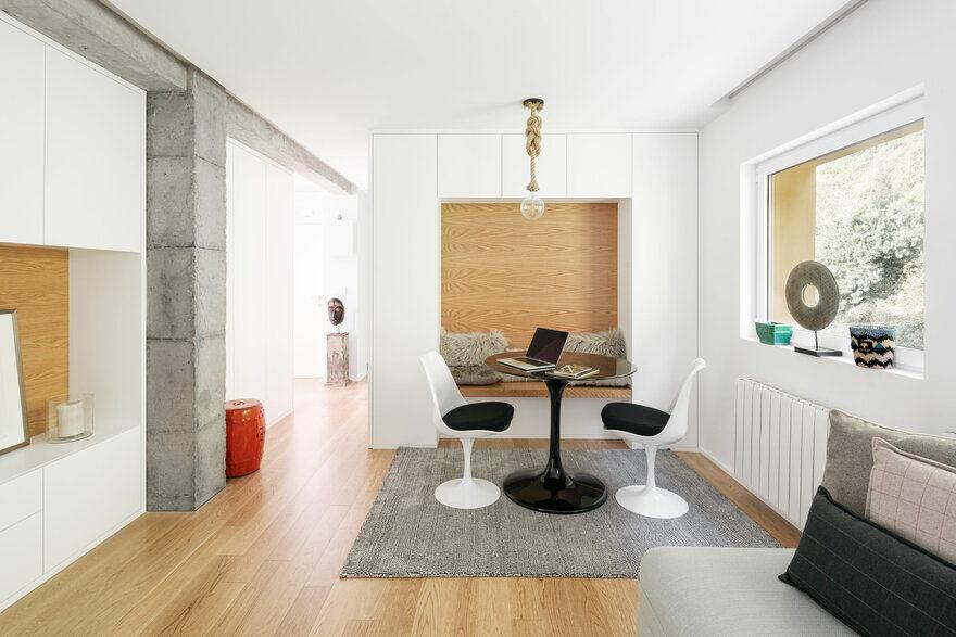 San Esteban Apartment Renovated by David Olmos Arquitectos