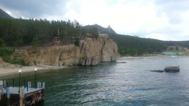 Идём в Песчанку.июль 2013 оз Байкал,бухта Песчаная