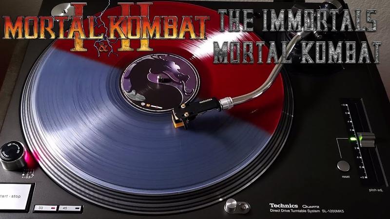 Mortal Kombat I II The Immortals Mortal Kombat Blood Dip Vinyl LP