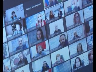 Губернатор Югры провела пресс конференцию с журналистами