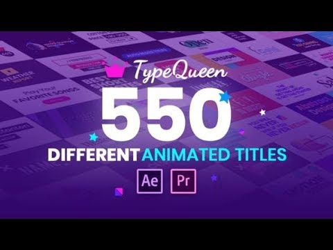 TypeQueen Animated Title and Kinetic Text VIDEOHIVE