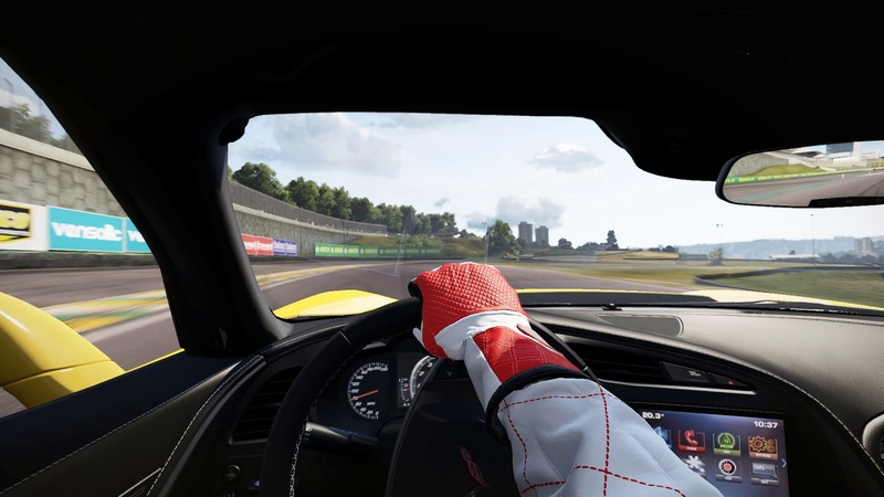 Project CARS 3 Corvette C7 w Upgrades @ Interlagos Full Sim Gameplay