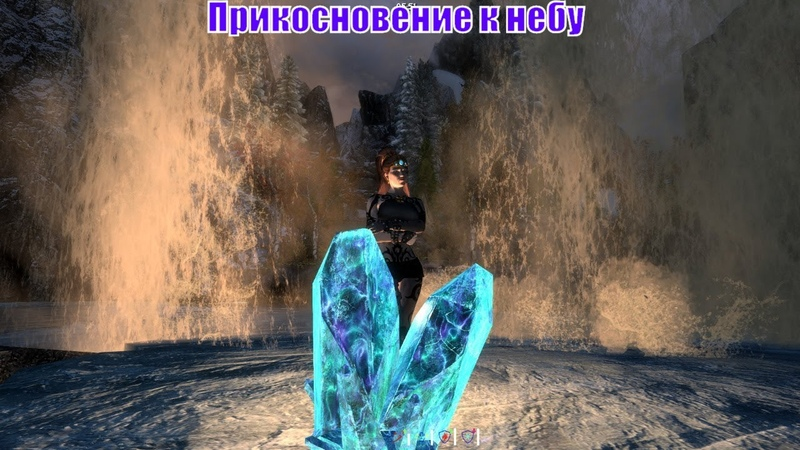 Skyrim Special Edition Сборка SLMP SSE Приключения Рыжей на Легенде 42 Прикосновение к небу
