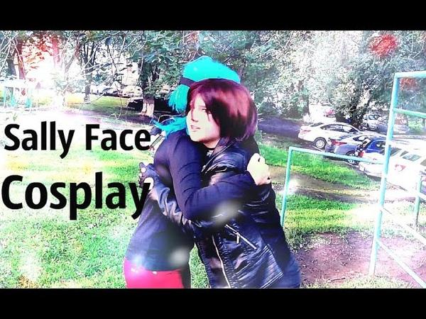 Cosplay Sally Face (Сцена у Озера с озвучкой Куплинова)