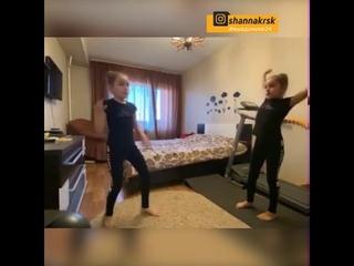 Лучшие моменты домашних тренировок жителей Красноярского края #мывдомике24