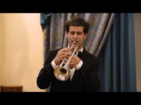 Дж Руфф Сонатина для трубы и фортепиано исполняет Никита Лукашевский