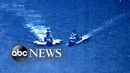US Russian vessel's near miss with Navy ship 'irresponsible'