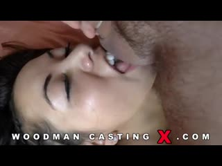Анальный кастинг Morgan Lee по самые яйца (Woodman Casting, anal, dp)