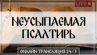 НЕУСЫПАЕМАЯ ПСАЛТИРЬ 24/7   Онлайн Трансляция   Молитва, которую слышит Бог / Монах Авель