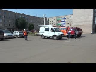 В Дюртюлях состоялись тренировочные учения по ликвидации последствий взрыва газа в многоэтажном доме.