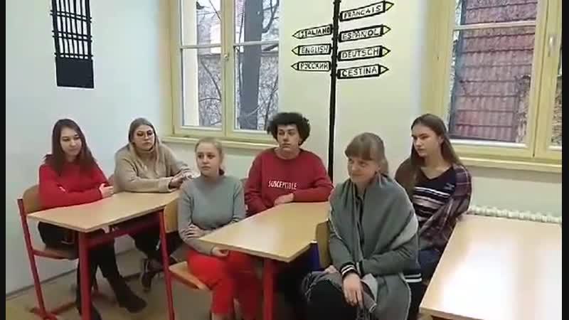 Studenti z Moskvy