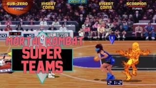 Mortal Kombat NBA Jam Super Teams And Fatalities! - Retro Rewind NBA Jam TE Arcade