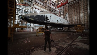 Trip to abandoned space shuttles