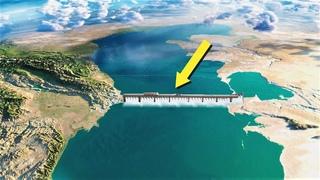 Россия построит Дамбу через Каспий. Зачем Путин хочет разделить Море