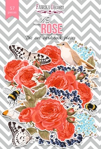 Набор высечек коллекция Red Rose 57 шт 170,00 р. В наличии 1 шт.