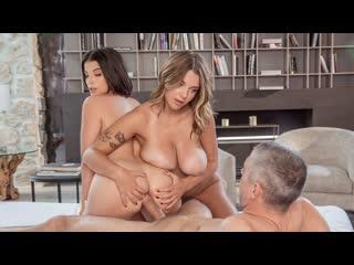 [Tushy] Gabbie Carter, LaSirena69 All Sex Porn Blowjob Big Tits Ass MILF Threesome Anal Doggy Cumshot порно анал секс трах мамки