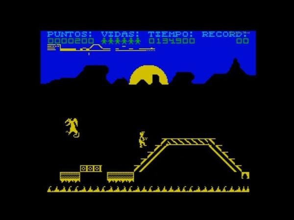 Rygar - Legendary Warrior Walkthrough, ZX Spectrum
