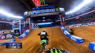 GoPro: Malcolm Stewart | 2021 Monster Energy Supercross | Arlington 1 | 450 Main Event Highlights