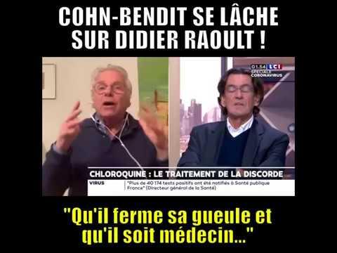 Daniel Cohn Bendit critique violemment le professeur Raoult sur LCI