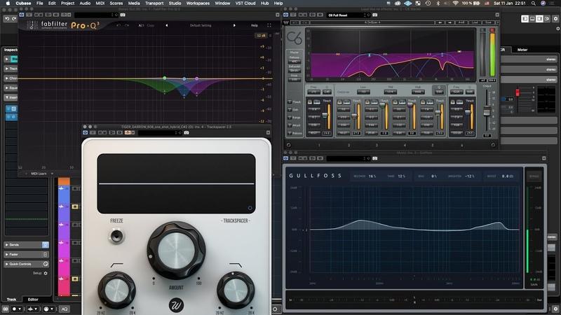 Плагин Дня! Waves - C6 Fab - Q3 Trackspacer Gullfoss. Сила В Сведении! mixing