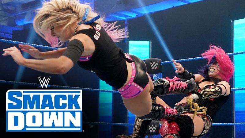 Video@alexablissdaily Alexa Bliss vs Asuka SmackDown March 27 2020