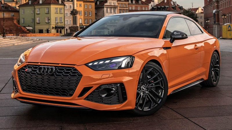 WOW! NEW 2021 AUDI RS5 in some CRAZY SPEC GLUT ORANGE BLACK OPTICS 600NM 450HP BEAST in Detail