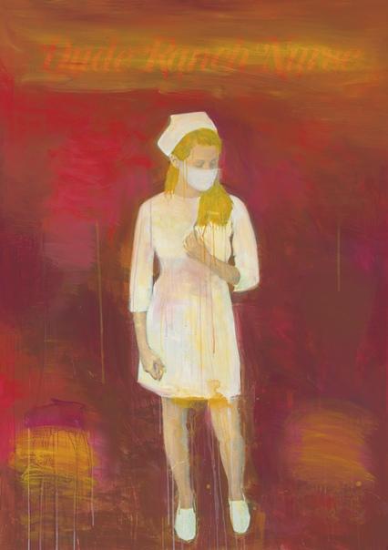 ichard Prince (1949, USA). Из серии Медсёстры(Nurses).