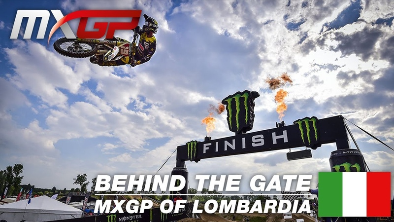 Behind the Gate Monster Energy MXGP of Lombardia 2019 Motocross