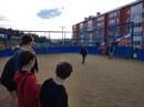 Вчера в хоккейной коробке во дворе дома №33 улицы Донского гп. Северо-Енисейского прошел турнир по д