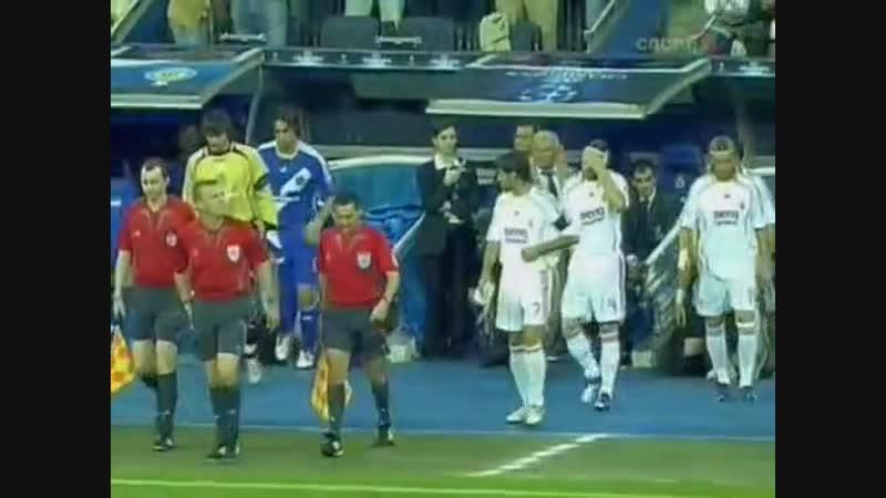 133 CL-2006/2007 Real Madrid - Dinamo Kiev 5:1 (26.09.2006) HL