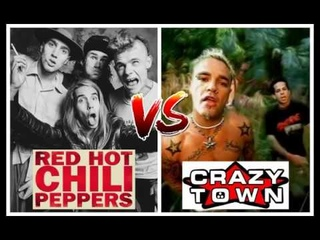 #7: Red Hot Chili Peppers - Pretty Little Ditty VS Crazy Town - Butterfly