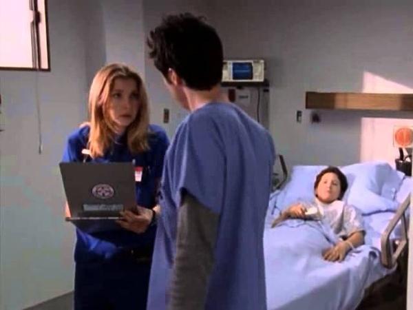 Что больше всео на свете хотят видеть настоящие мужики Scrubs 1x05 Клиника 1х5