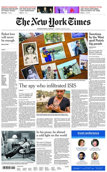 2018-08-14 The New York Times International Edition