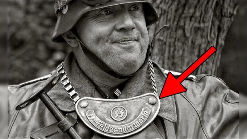 Зачем немцы носили эту железную бляху на цепи
