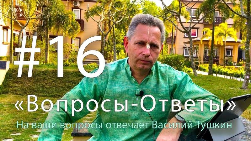 Вопросы-Ответы, Выпуск 16 - Василий Тушкин отвечает на ваши вопросы