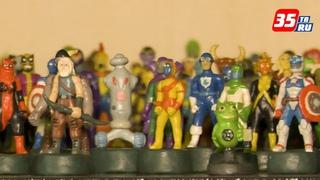 Тысячу пластилиновых супергероев создал череповчанин