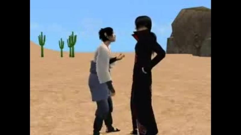 Наруто = Sims 2 (нарутовцы зажигают)