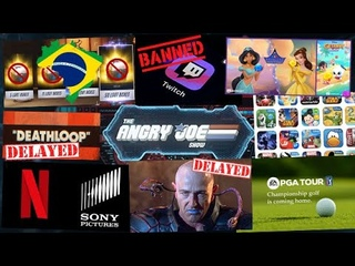 AJS News - EA gets PGA Golf, Netflix gets Sony Films, New Twitch Ban Policy, Brazil on Lootboxes