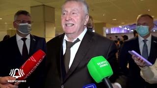 Жириновский про Зеленского и Навального, про покушение на Лукашенко  Интервью БЕ
