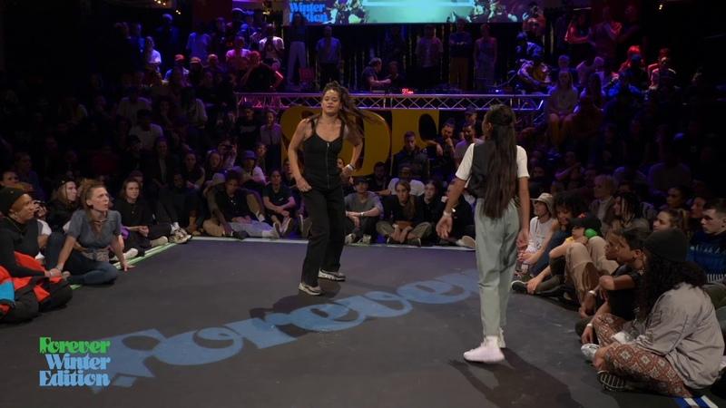 Marie Kaae vs Titi 1st ROUND BATTLE House Dance Forever Forever Winter Edition 2020