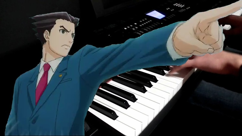Gyakuten Saiban OP - Gyakuten Winner (Piano Cover)